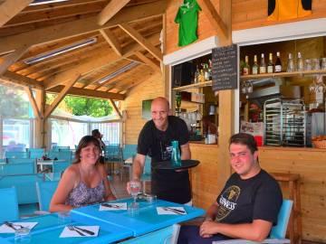 Bar restaurant Chez Péchou dans les Landes